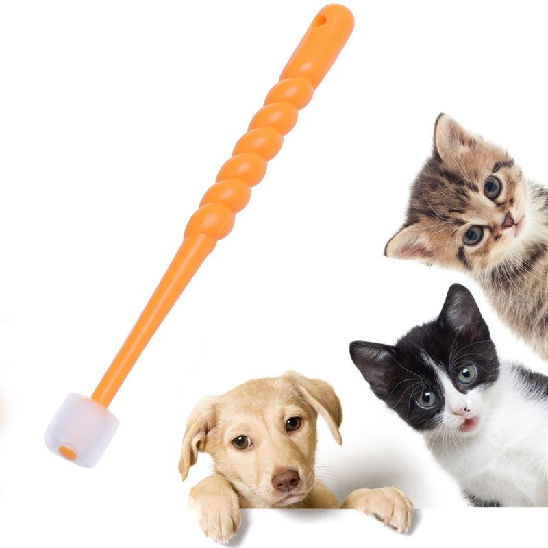1pc 360 Degree Pet Toothbrush Dog Brush Addition Bad Breath Tartar Teeth Care Dog Cat Cleaning Supplies(Random Color)