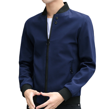 Newest Solid Autumn Mens Bomber Jackets Male Casual Zipper Summer Jacket Men Spring Casual Outwear Men Thin Jacket M-4XL