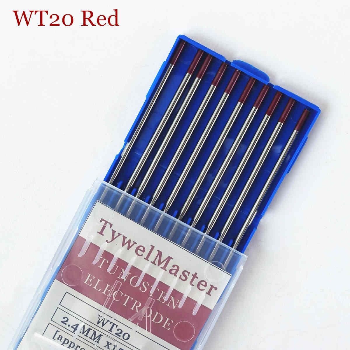 プロのタングステン電極溶接電極1.0 1.6 2.0 2.4 3.0 3.2 4.0ミリメートルWT20 WC20 WL20 WL15 WZ8 wp WY20 WR20 tigロッド