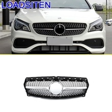 Parts Exterior Decoration Mouldings Automovil Styling Car Accessories Racing Grills FOR Mercedes Benz CLA Class