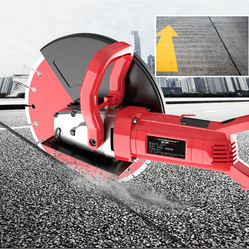Single Chip Slotting Machine Stone Cutting Machine for Waterborne Road Doors and Windows Multifunctional Concrete|Electric Saws|   - title=