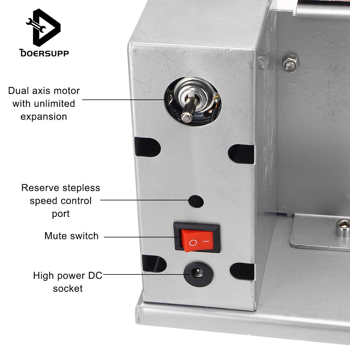 Mini Winkel Grinder Elektrische Gürtel Sander mit Adapter 3cm Polieren Schleifen Maschine Cutter Kanten Spitzer Gürtel Grinder 110/ 220V