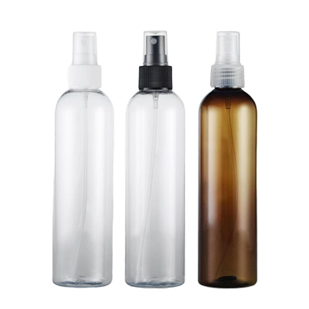 2Pcs <font><b>250ml</b></font> <font><b>Spray</b></font> <font><b>Bottle</b></font> Plastic Travel <font><b>Bottles</b></font> Leak-proof Container For Shampoo Perfume Cosmetic For Cosmetic Packaging Tool image