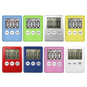 Kitchen Digital Timer Cooking Studying Count-down Clock LCD Screen Display Alarm Kitchen Gadget image