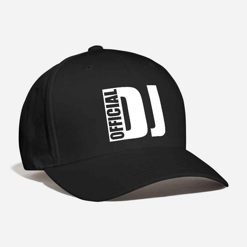 Men's Women's Official DJ Customized Baseball Cap Deejay Disc Jokey Remix Disco Electro Techno Music Pub Rap Fashion Snapback