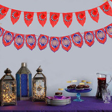 Eid Mubarak Banner ghirlanda bandiera RAMADAN KAREEN Decor islamico musulmano Mubarak decorazione Eid Al Adha forniture per feste Festive