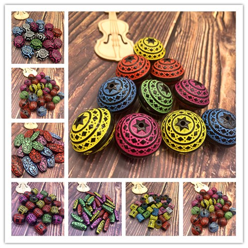 Wholesale Acrylic Beads Earrings Necklace Accessories Beads For Jewelry Making DIY Jewelry Necklace Bracelet Earring Accessories