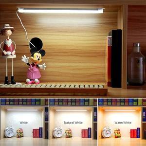 Image 2 - Smd 2835 5v usb led strip bar usb conduziu a lâmpada de mesa luz para cabeceira livro leitura estudo escritório trabalho crianças noite luz