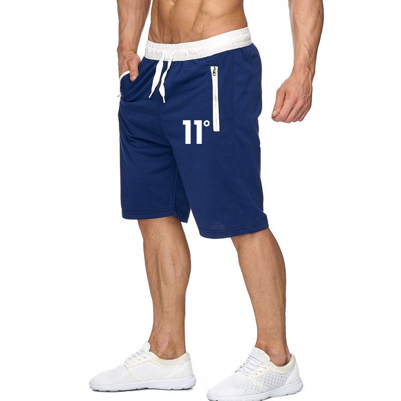 Summer Casual Fashion Beach Short Pants New Men Gyms Fitness Bodybuilding Shorts  Male Crossfit Workout Cotton Sweatpants Botto