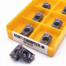Твердосплавная вставка aomt123608 peer m vp15tf высокое качество