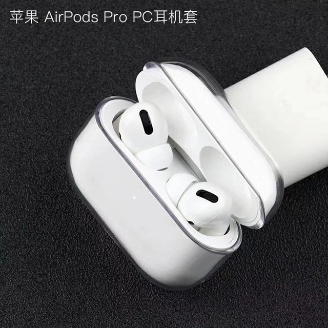 Transparent Cover Bag for Apple AirPods.