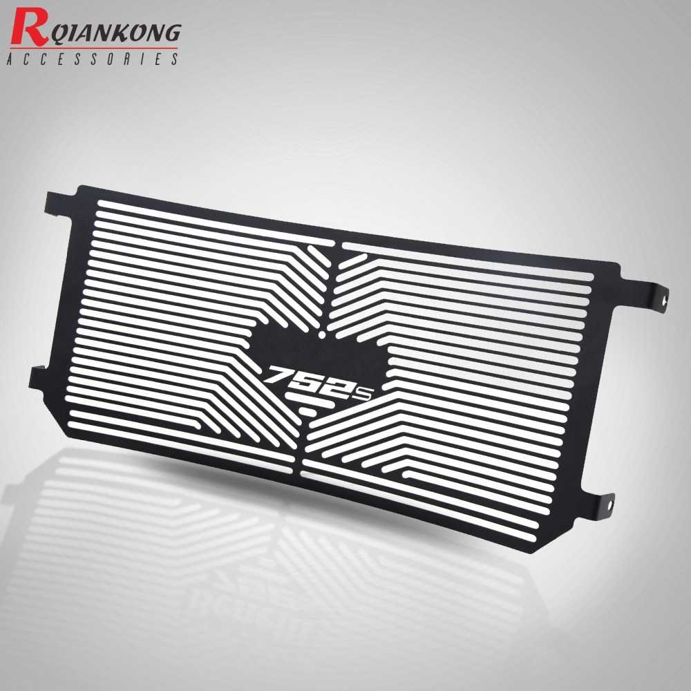 Color : Silver Motorbike Radiator Grille For BENELLI 752S 752 S 2018 2019 2020 Motorcycle Radiator Guard Protection Cover