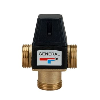 3 Way Mixing Valve Male Thread Brass Thermostatic Valve for Solar Water Heater Tools Accessory solar temperature control valve electric water heater hot bathroom faucet automatic mixing water adjustment thermostatic valve