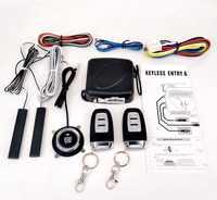 Auto Alarm Passive Keyless Entry Remote Start/Stop Motor System Zentrale Schloss Auto Motor Start Stop Taste Automotive PKE SQ886