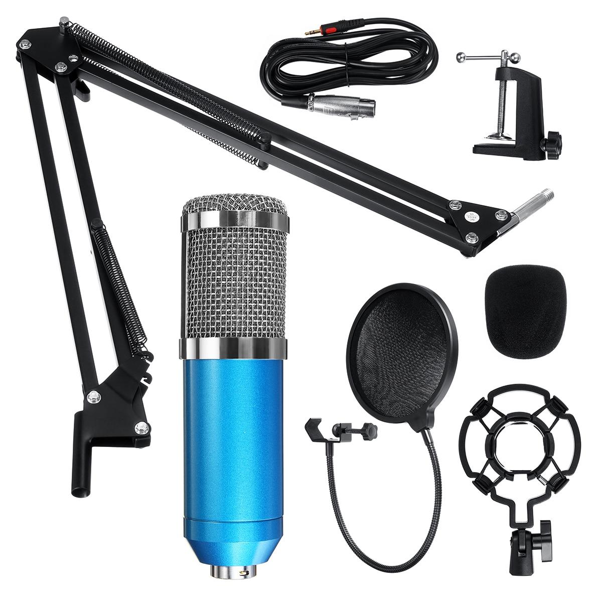 Micro de Studio micro professionnel bm 800 condensateur Microphone d'enregistrement sonore pour micro d'ordinateur mikrofon micro bm800