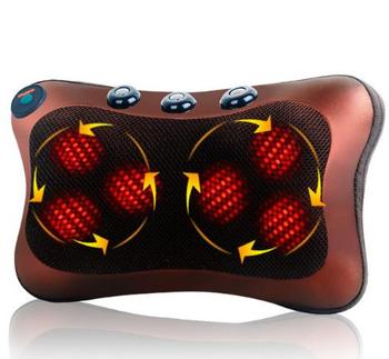 HANRIVER wielofunkcyjne masażery elektryczne ogólne gospodarstwa domowego masażer samochodowy szyi lędźwiowego pleców masaż karku poduszki tanie i dobre opinie