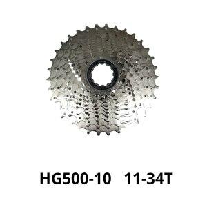 Image 2 - Shimano Deore M610 M6000 M4100 10 Speed bike cassette HG50 HG500 10 S 10V mtb della bicicletta della Montagna a ruota libera 34T 36T 11 42T 11 46T