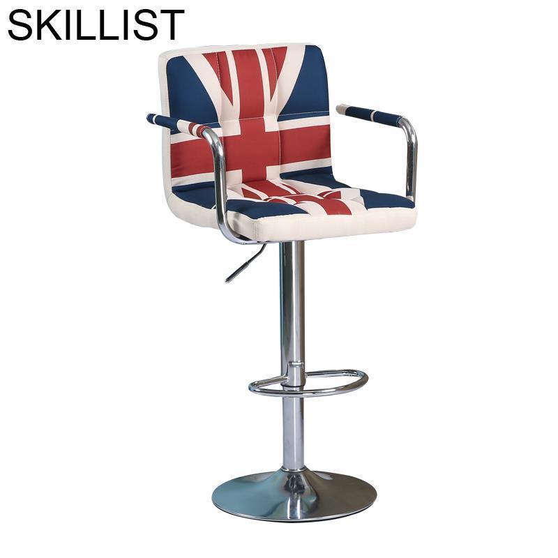 Taburete La Barra Bancos Moderno Sedie Table Fauteuil Comptoir Leather Cadeira Tabouret De Moderne Stool Modern Bar Chair