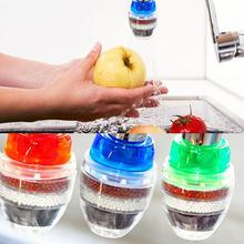 Практичный очиститель воды фильтр для дома 5 слоев фильтрации активированного угля прочный товары для кухни