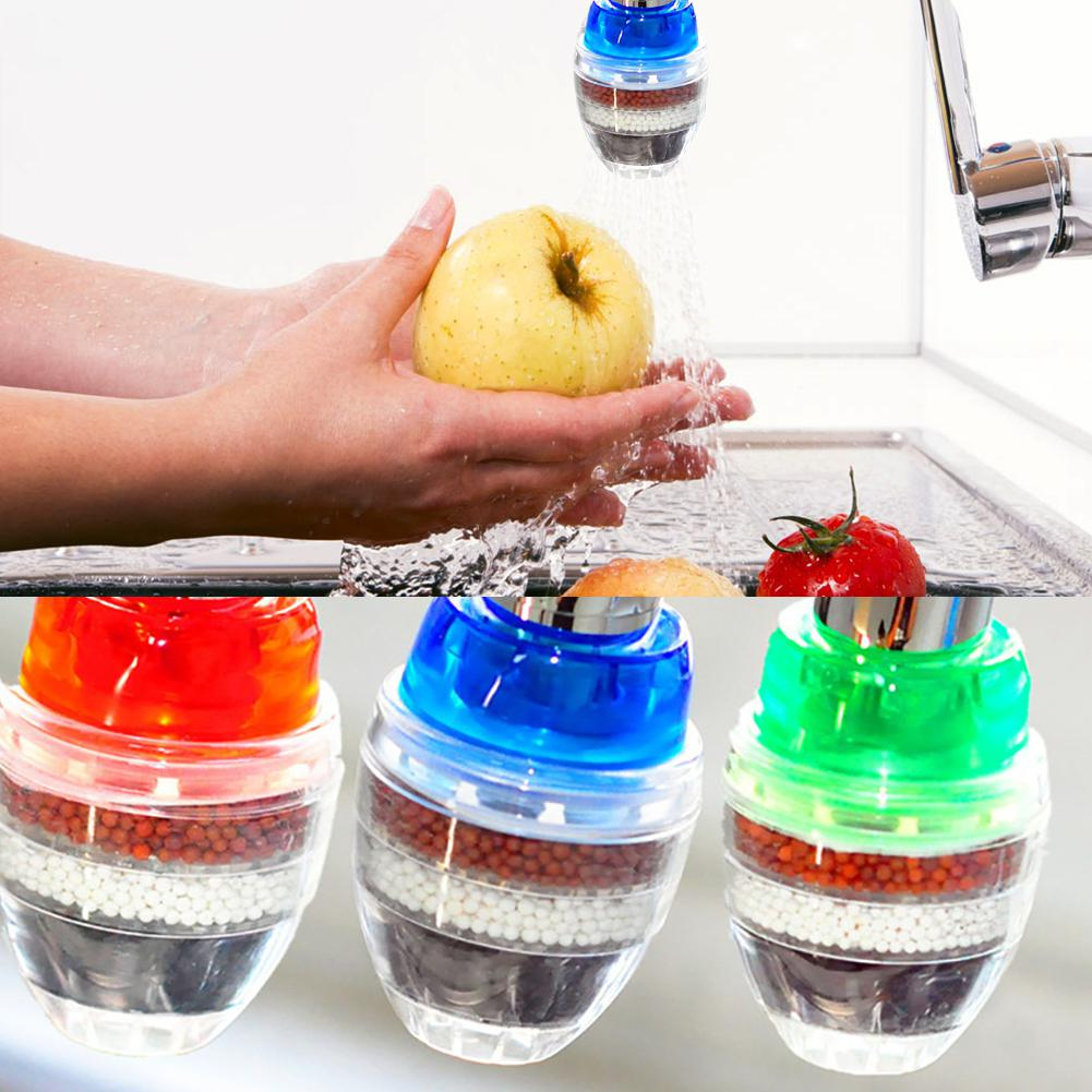 Practical Water Purifier Filter Home 5 Layers Activated Carbon Filtration Durable Kitchen Supplies Item
