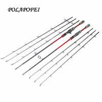 3 tips 100% Carbon Lure Fishing Rod Spinning Fish Pole Pike Casting Rod Travel Peche Pesca fly Olta Carp Feeder Tackle sea E265