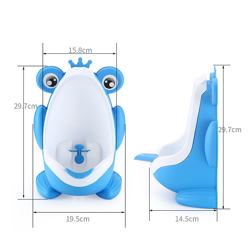 Wall Mounted Children Potty Toilet Frog Shape Kids WC Stand Vertical Urinal Infant Toddler Cartoon Potty Boys Urinal in Potties from Mother Kids
