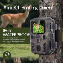 mini 301 Hunting Trail Camera 12MP 1080P PIR IR Wildlife Scouting Cam Night Vision 0.45 second trigger time Hunting Cameras