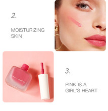 Naturalna paleta róży Focallure Novo twarz Imagic Rubor Beauty Glazed Maquillaje Coreano trwały krem Colorete Blush Makeup TSLM