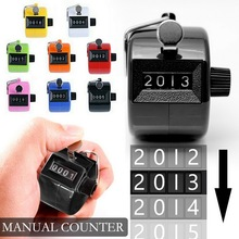 Digital-Counter-Display Mechanical Manual-Counting-Timer Golf Electronic 8-Colors Soccer