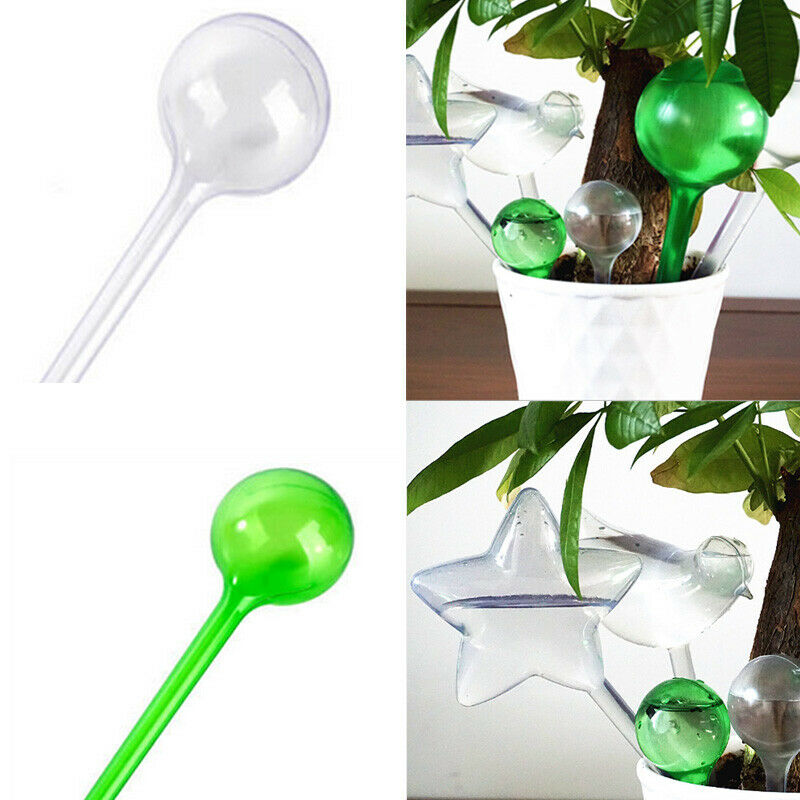 Glass Self Watering Water Device For Pot Plant Houseplant Home Garden Decoration