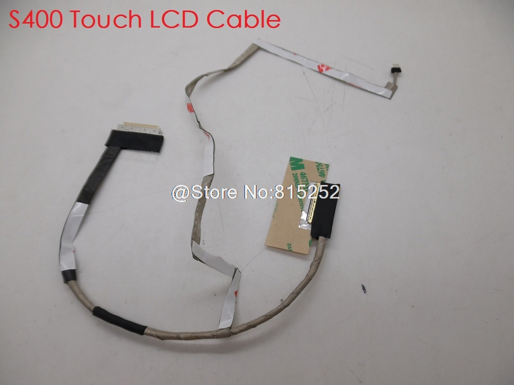 Laptop LCD Cable For <font><b>Lenovo</b></font> For Ideapad <font><b>S400</b></font> <font><b>S400</b></font> TOUCH LCD <font><b>Hinge</b></font> L&R Speaker DC02001SE10 DC02001KO10 PK23000JA00 New image