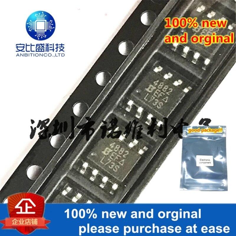 10pcs 100% New And Orginal SI4882DY-T1-E3 SOP-8 SI48824882 30V 11A In Stock