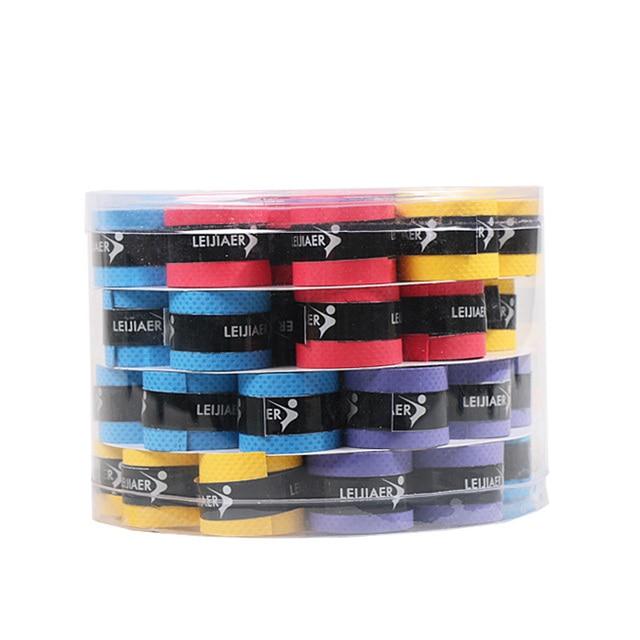 1pcs Badminton Racket Rubber Sweat-absorbent Belt for Men and Women Tennis Racket Grip Sports Matte Flat Sweat-absorbent Belt 3