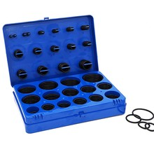 382Pcs Rubber Ring Nbr O Rings Kit 30Sizes Nitrile O-Ring Seal Set Sealing Rings Gasket Assortment Set Kit Box Oil Waterproof(China)