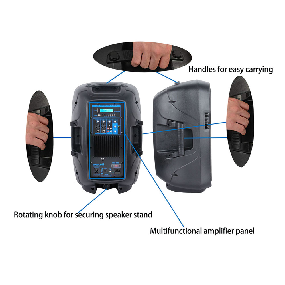 party karaoke speakers system