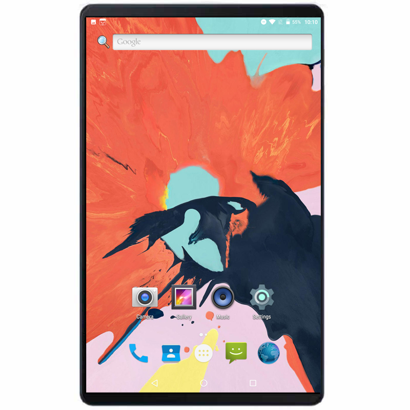 Fast Shipping Android 9.0 Octa Core 10 Inch Tablet PC 6GB RAM 64GB ROM 8MP WIFI A-GPS 4G LTE 2.5D Tempered Glass IPS 1280*800