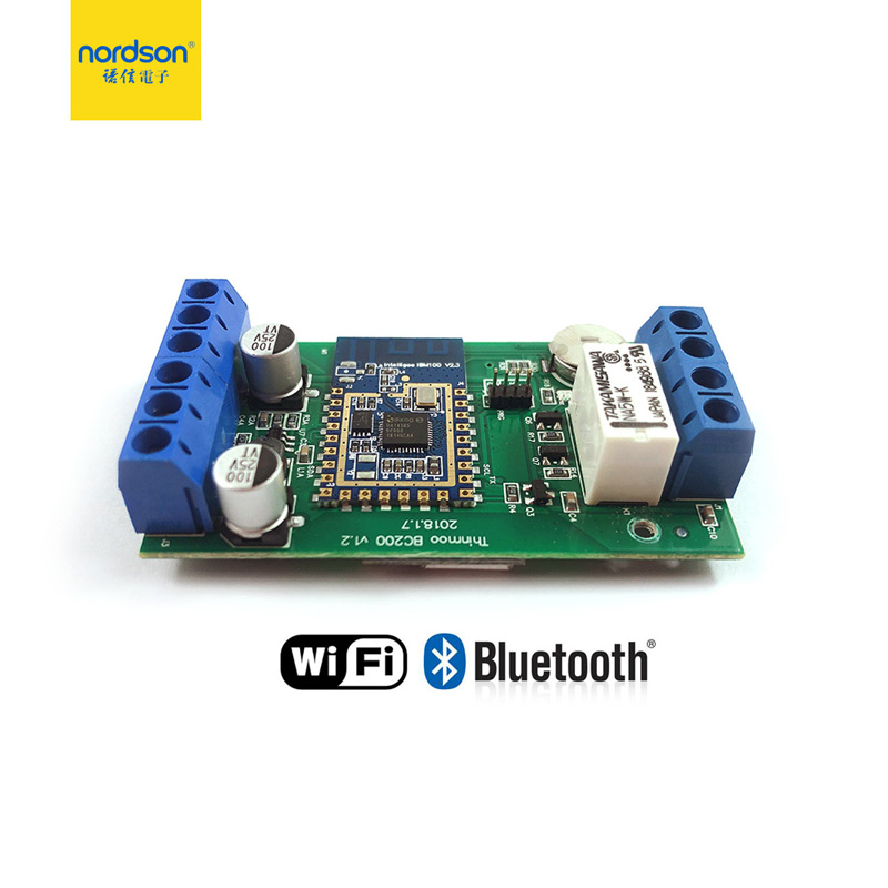 Nordson Mini Access Control Board Wiegand Output RFID Gate Reader Via Smart Wifi & Bluetooth Mobile Phone App Door Entry System