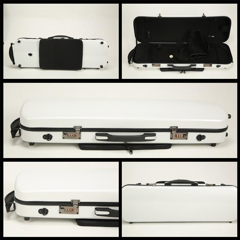 Violin Box Composite High Hardness, Wear Resistance And Compression Resistance 4/4 Box FRP Carbon Fiber Ribbon  Case