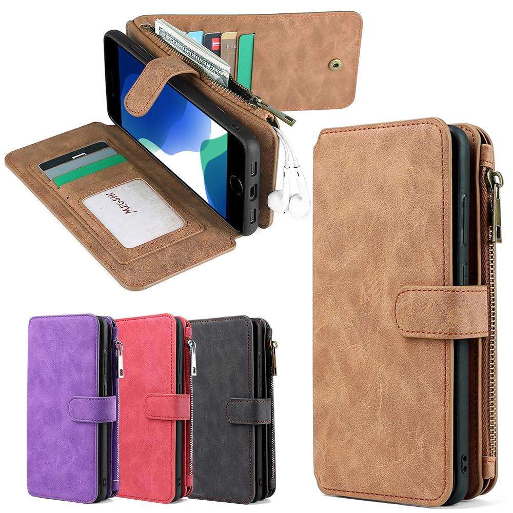 Wallet Fashion Handbag Phone Case For Samsung Galaxy M31 S8 S9 S10 S20 S21 Plus Note20 Ultra A20E A21S A40 A50 A51 A70 A71 S20FE