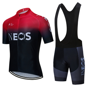 Image 2 - 2020 צוות INEOS רכיבה על בגדי 20D אופני מכנסיים מלא חליפת Ropa Ciclismo מהיר יבש רכיבה על אופניים ג רזי מאיו שרוולי מחממי