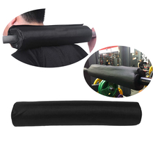 Foam Barbell Pad Squat Weight Lifting Foam Neck Shoulder Protector Support Gym Pull Up Gripper Equipment Weights Gym Pads Black