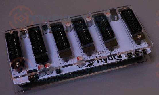 Hydia Mini SCART Distributor Converter 5 IN 1 OUT Automatic Switcher EUR SCART Divider Converting Board Device