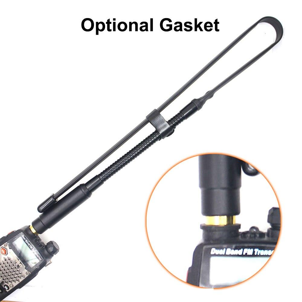 144/430mhz Foldable High Gain  Cs Tactical Antenna Sma-Female Connector For Walkie Talkie Baofeng Uv-82 Uv-5r Uv5r UV82 Tyt