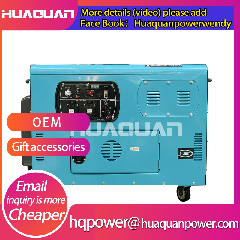 Electric start three phase generator diesel 10kva for sale