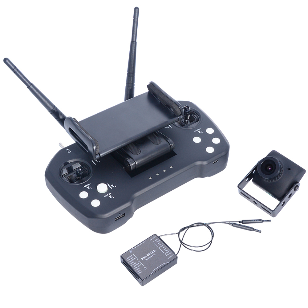 Skydroid T12 2.4GHz 12CH Remote Control With R12 Receiver/Mini Camera/20km Digital Map Transmission For Plant Protection Machine