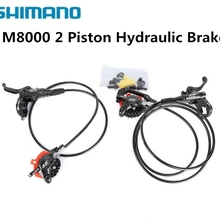 Cooling-Pads Hydraulic-Brake-Set M8000 Deore Xt Ice-Tech Shimano Bike-Parts Mtb And Rear
