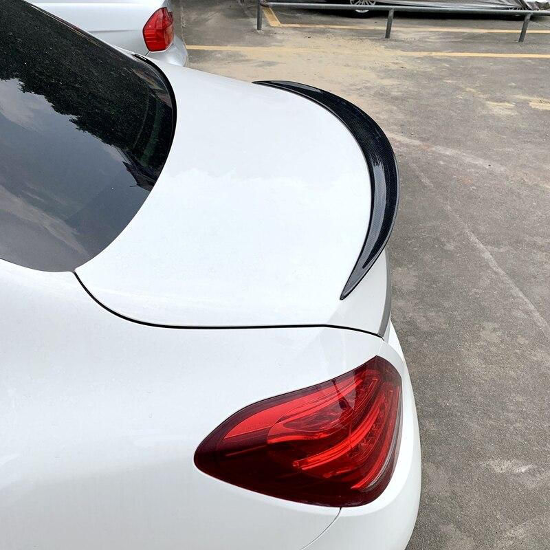 for Mercedes W205 AMG Spoiler 2014 2015 2016 C Class W205 C63 C180 C200 C250 C260 Carbon Fiber Rear Spoiler Trunk Wing