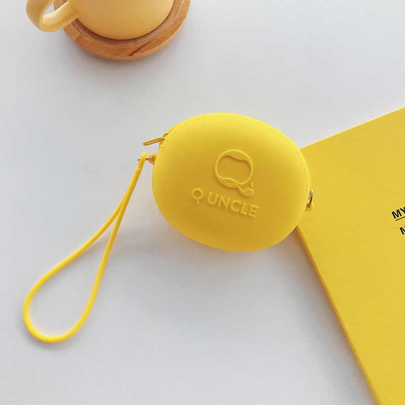 Dinosaurier Cartoon Kopfhörer 3,5mm In-ohr Stereo Mit Mic Kopfhörer Fall Für Smartphone Frauen Brieftaschen Karte ID Halter kinder Geldbörsen