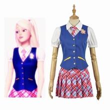 Anime Princess Charm School Sophia Hana Lied Blair Willows Jk Uniform Adult Cosplay Kostuum Kleding Outfits Halloween