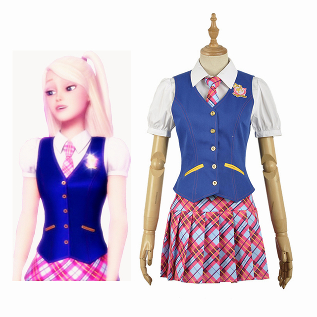 Anime Princess Charm School Sophia Hana Song Blair Willows JK Uniform Adult Cosplay Costume Clothing Outfits Halloween